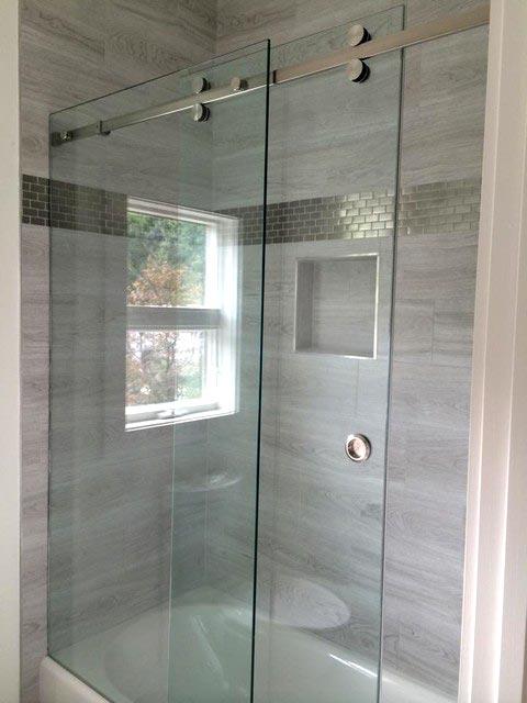 Sliding Shower Doors Crackmasters Camrose